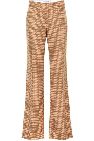 Stella McCartney Pantalones rectos Claudia de lana