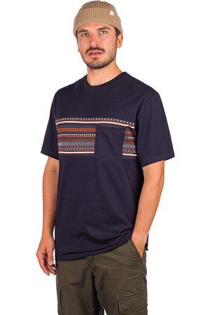 Iriedaily Chop Chop Pocket T-Shirt azul
