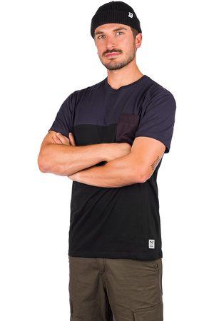 Iriedaily Block Pocket T-Shirt azul