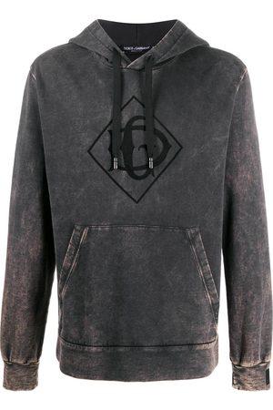 Dolce & Gabbana Hombre Jerséis y sudaderas - Sudadera con capucha y logo