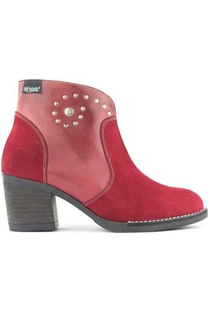 Oh!! Isabella Botines Spiral Red Boots para mujer