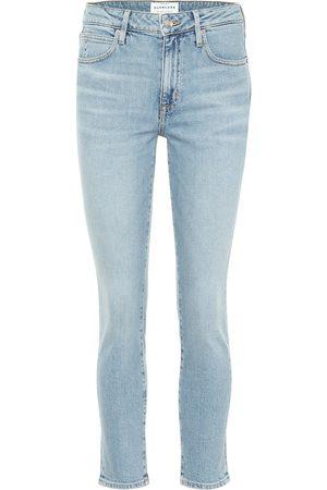 SLVRLAKE Jeans Lou Lou cropped de tiro alto