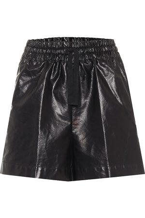 DRIES VAN NOTEN Mujer Pantalones cortos - Shorts en mezcla de algodón