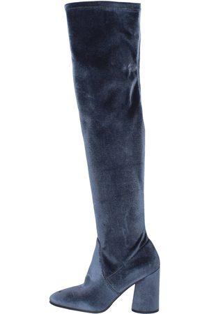 Elvio zanon Mujer Botas - Botas botas terciopelo para mujer