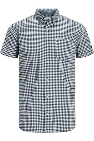 Jack & Jones Camisa manga corta 12174477 JCOMONTREAL SHIRT SS ONE POCKET SKY CAPTAIN para hombre