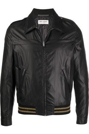 Saint Laurent Stripe-hem jacket