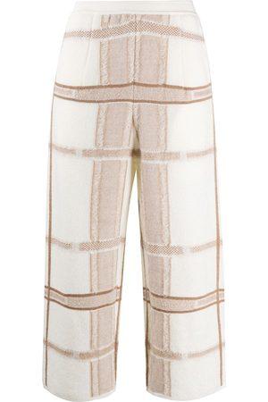 GENTRYPORTOFINO Pantalones en intarsia capri