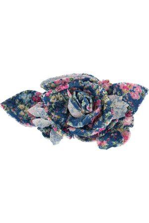Serafini Broche con estampado floral