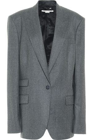 Stella McCartney Blazer Bell de botonadura simple