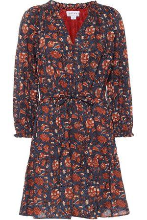 Velvet Vestido corto Shoshana de algodón