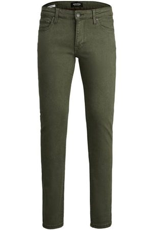 Jack & Jones Pantalón chino 12178343 JJIGLENN JJICON AMA FOREST NIGHT Forest Night para hombre