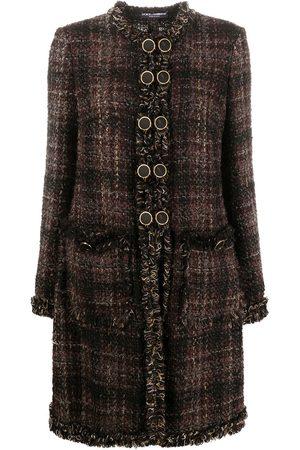 Dolce & Gabbana Chaqueta de tweed con botones