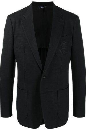 Dolce & Gabbana Chaqueta con logo bordado