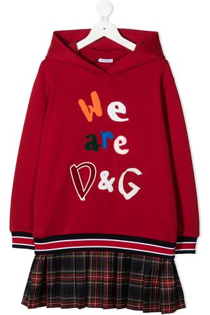 Dolce & Gabbana We Are D&G sweatshirt dress