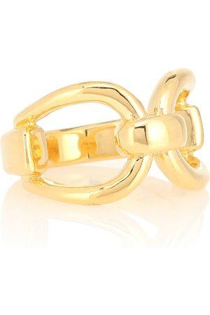 Sophie Buhai Anillo Horsebit de oro vermeil de 18 ct