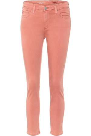 AG Jeans Pantalones cigarette Prima Crop