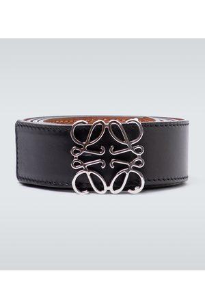 Loewe Cinturón Anagram de piel