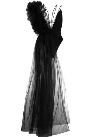 Alchemy Asymmetric ruffled bodysuit