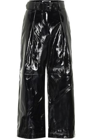 Self-Portrait Pantalones de charol sintético
