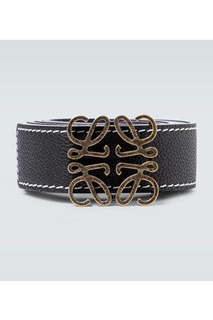 Loewe Cinturón Anagram de piel reversible