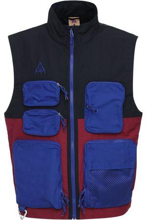 Nike | Hombre Acg Nylon Vest W/ Multipockets /beetroot Xs