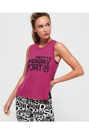 Superdry Camiseta de tirantes de corte holgado Active
