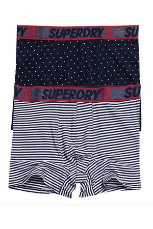 Superdry Pack de 2 calzoncillos bóxer de algodón orgánico