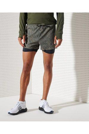 Superdry Sport Pantalones cortos para correr Trail