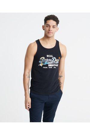Superdry Camiseta de tirantes con logo Vintage Infill