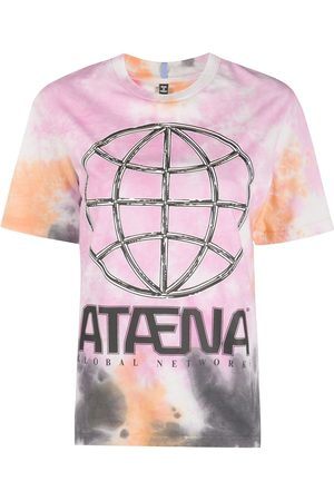 McQ Swallow Camiseta con estampado gráfico tie-dye
