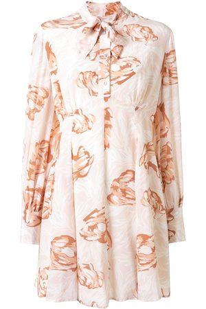 Karen Walker Mujer Estampados - Vestido con estampado floral Gardenesque