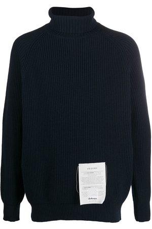 BALLANTYNE Ribbed roll neck jumper