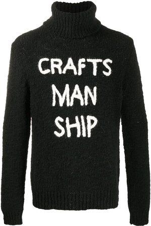Dolce & Gabbana Hombre Jerséis y suéteres - Embroidered rollneck jumper