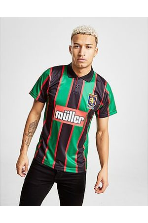 Score Draw Camiseta Aston Villa FC '94 2.ª Equipación, Green/Black