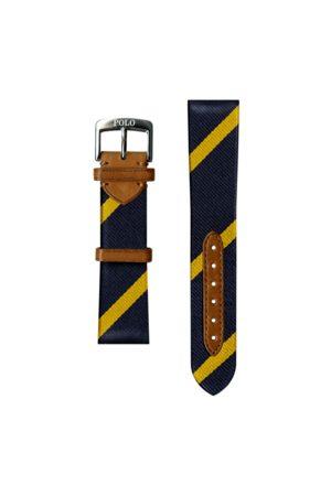 Polo Ralph Lauren Correa reloj seda rayas anchas