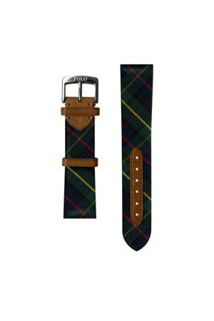 Polo Ralph Lauren Hombre Relojes - Tartan Tie Silk Watch Strap