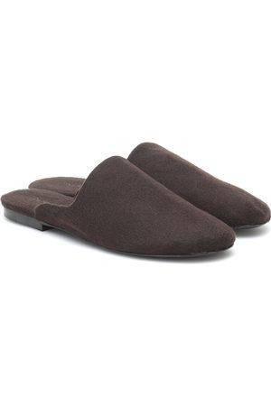 The Row Slippers Granpa de cachemir