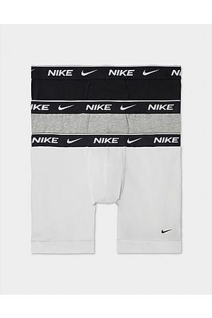 Nike 3-Pack Boxers, White/Grey/Black