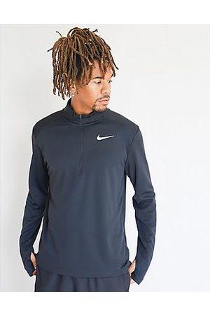 Nike Hombre Manga larga - Camiseta de manga larga Pacer 1/2 Zip, Black