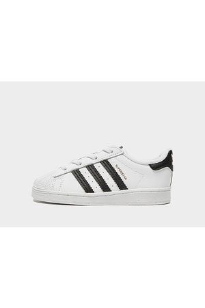 adidas Superstar para bebé, White/Black