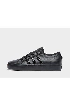 adidas Nizza Lo Leather júnior - Only at JD, Black