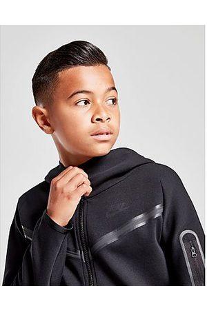 Nike Chaqueta con capucha Tech Fleece júnior, Black