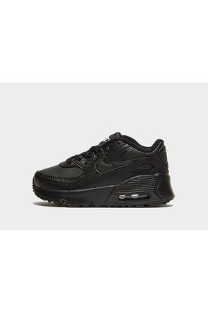 Nike Air Max 90 Leather para bebé, Black