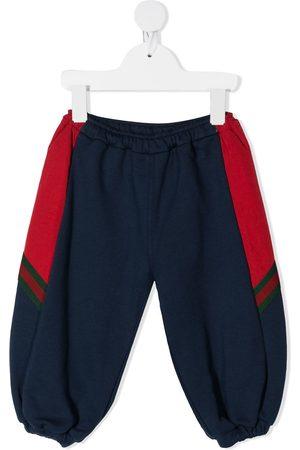 Gucci Pantalones de chándal a paneles