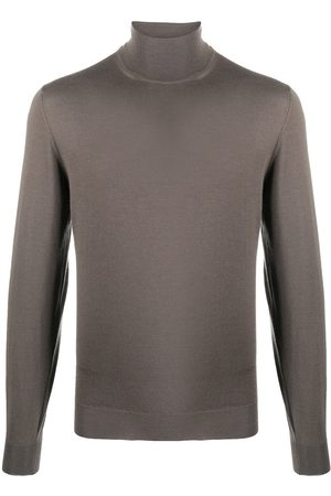 DELL'OGLIO Fine knit roll neck jumper