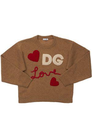 Dolce & Gabbana | Niña Suéter De Punto De Lana Y Cashmere 8a