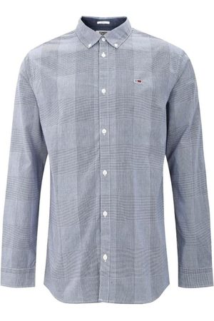 Tommy Hilfiger Camisa manga larga TJM TAPE MIXED GINGHAM SHIRT para hombre