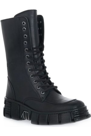 New Rock Botines WALL ITALI NERO TOWER para mujer