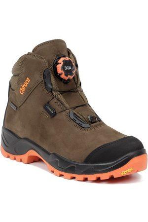 Chiruca Zapatillas de senderismo Botas Alano Force Boa Hi Vis 08 Gore-Tex para hombre