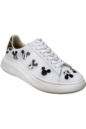 Disney Zapatillas Md477 para mujer